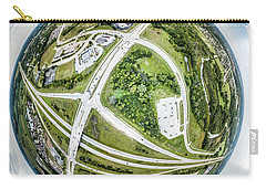 Carry-all Pouch featuring the photograph Planet Mukwonago by Randy Scherkenbach