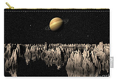 Planet Saturn Carry-all Pouch by Phil Perkins