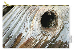 Carry-all Pouch featuring the photograph Planking The Right Way? by Robert Knight