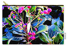 Plant 14 In Abstract Carry-all Pouch