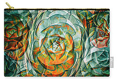 Carry-all Pouch featuring the photograph Plant Abstract by Wayne Sherriff