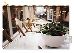 Plant In A Cup In A Cafe Carry-all Pouch