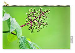 Elderberry In Rain Carry-all Pouch