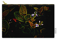 Plants In Abstract 19 Carry-all Pouch