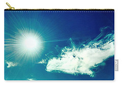 Platinum Rays And Angelic Cloud Bless The Prairie Carry-all Pouch