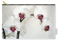 Platnum Beauty Orchids Carry-all Pouch
