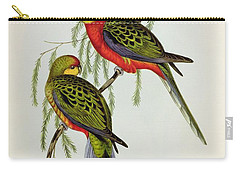 Platycercus Icterotis Carry-all Pouch by John Gould