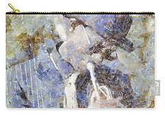 Play The Blues Carry-all Pouch by Shirley Stalter