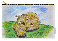 Play With Me Carry-all Pouch by Clyde J Kell