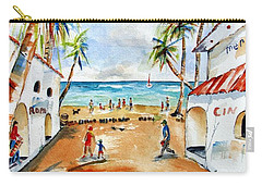 Playa Del Carmen Carry-all Pouch by Carlin Blahnik