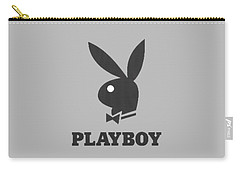 Playboy T-shirt Carry-all Pouch by Herb Strobino