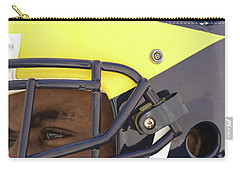 Player In Winged Helmet Carry-all Pouch