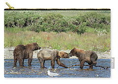 Playful Cubs Carry-all Pouch