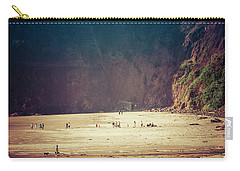 Playing Along Oceanside Oregon Carry-all Pouch