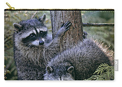 Playing In The Woods Carry-all Pouch