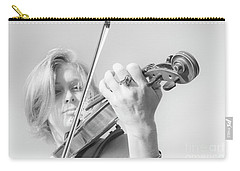 Carry-all Pouch featuring the photograph Playing Me Softly by Bob Christopher