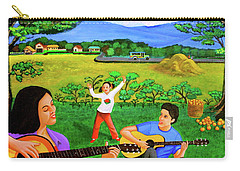 Playing Melodies Under The Shade Of Trees Carry-all Pouch