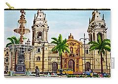 Plaza Armas, Cusco, Peru Carry-all Pouch