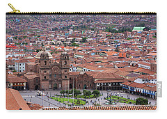 Plaza De Armas, Cusco, Peru Carry-all Pouch by Aidan Moran