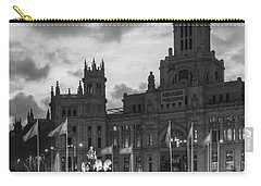 Plaza De Cibeles Fountain Madrid Spain Carry-all Pouch