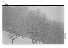 Plaza Impressionism With Kc Snow Carry-all Pouch