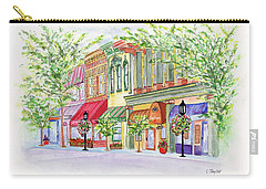 Plaza Shops Carry-all Pouch