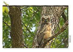Pleasantly Surprised  Carry-all Pouch by Heather King
