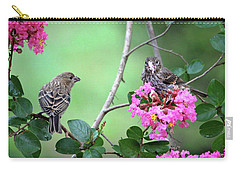 Carry-all Pouch featuring the photograph Please, May I Have Some? by Trina Ansel