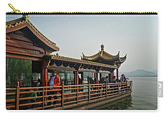 Pleasure Boat On West Lake Carry-all Pouch
