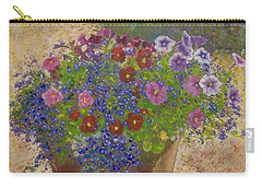 Carry-all Pouch featuring the painting Pleasure Pot by Richard James Digance