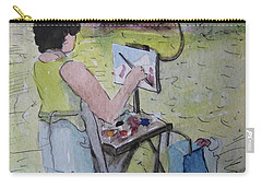 Plein-air Artist Sandra Carry-all Pouch