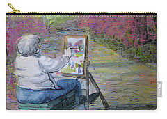 Plein-air Painter Lady Carry-all Pouch