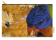 Carry-all Pouch featuring the photograph Plenty by Linda Hollis