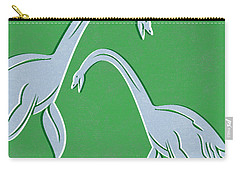 Plesiosaurus Carry-all Pouch by Linda Woods