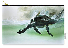 Plesiosaurus Carry-all Pouch by William Francis Phillipps