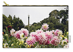 Carry-all Pouch featuring the photograph Plethora Of Dahlias by Cindy Garber Iverson