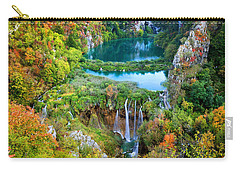 Plitvice Lakes In Croatia Carry-all Pouch