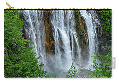 Plitvice Lakes Waterfall - A Balkan Wonder In Croatia Carry-all Pouch