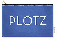 Plotz- Art By Linda Woods Carry-all Pouch by Linda Woods