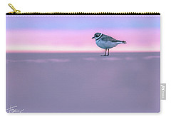 Plover At Sunrise Carry-all Pouch