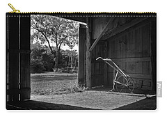 Plow Is In The Barn Carry-all Pouch by David and Carol Kelly