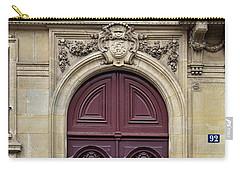 Plum Door - Paris, France Carry-all Pouch