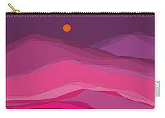 Plum Hills II Carry-all Pouch