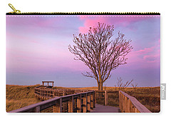 Plum Island Boardwalk With Tree Carry-all Pouch