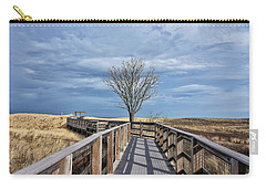 Plum Island Walkway Carry-all Pouch by Tricia Marchlik