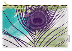 Plumage 2-art By Linda Woods Carry-all Pouch