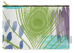 Plumage 4- Art By Linda Woods Carry-all Pouch