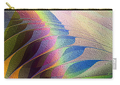 Carry-all Pouch featuring the digital art Plumage by Kiki Art
