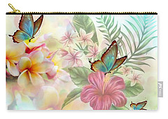 Plumeria Dreams Carry-all Pouch