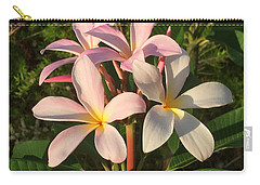 Plumeria Heaven Carry-all Pouch